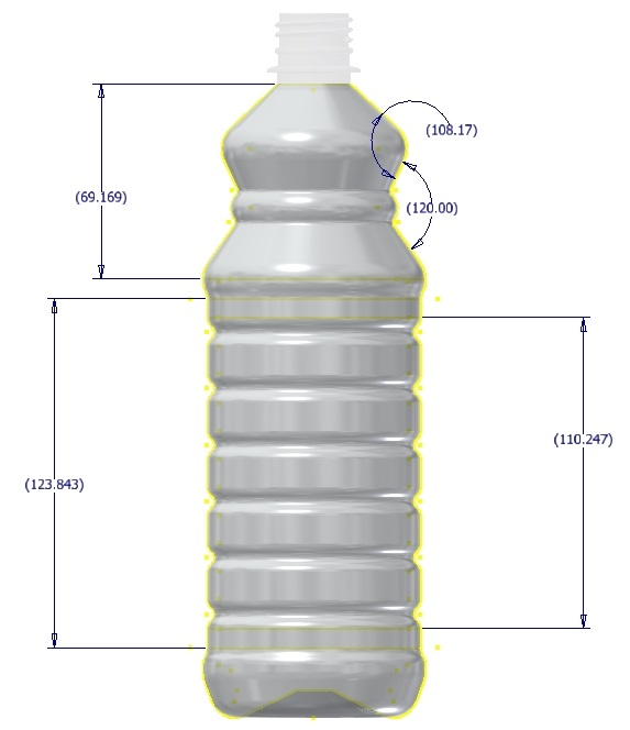28oz cleaner assy