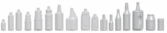 Conjunto de botellas