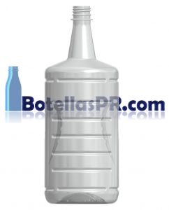 1.75 ltrs / 1750cc / 1750ml PET Clear Bottle Image