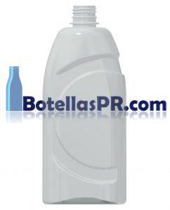 25oz Plastic PET Bottle Image