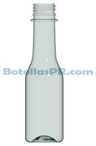 5oz Plastic PET Bottle Image