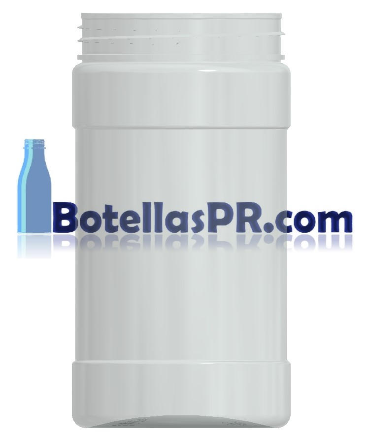 12oz Jar 63mm Neck Plastic PET Jar Image