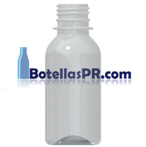4oz Plastic PET Bottle Image